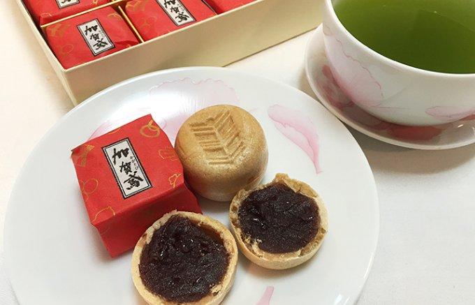 加賀百万石のお茶屋文化が生んだ一口サイズの極上最中!