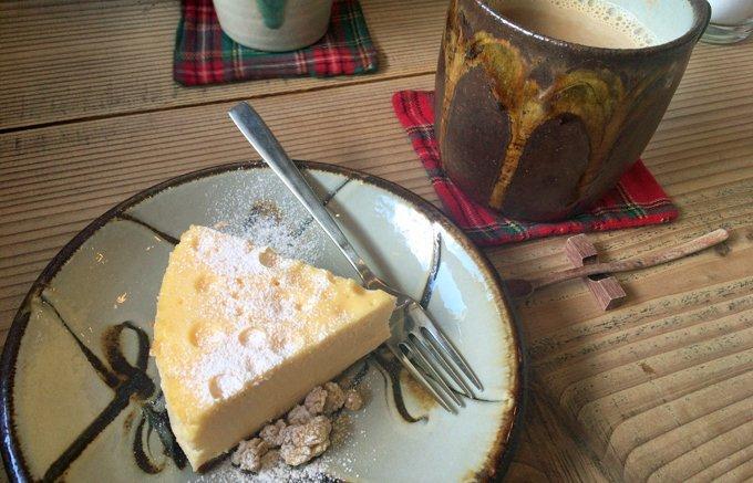 食べてびっくり口でとろけるチーズ菓子!