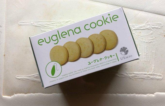 ミドリムシクッキーは未来の味がする!?