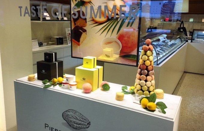 ピエール マルコリーニ新宿店限定!パイナップルがアクセントの「ショコラカキ氷」