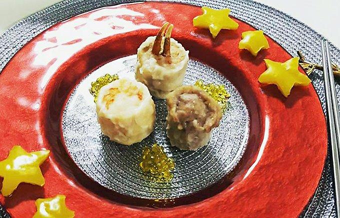 白バルサミコ酢で新感覚のおいしさ!日本橋小洞天の高級シュウマイ3種詰め合わせ