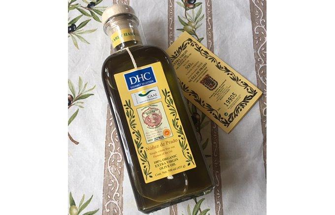 スペイン生まれの極上の香りと味「ヌニェス・デ・プラド エクストラバージンオイル」