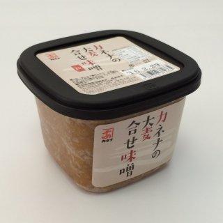 日本一、豚汁に合う味噌と太鼓判を押したくなる『カネナ』の「無添加合わせみそ」