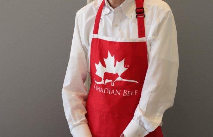 肉質はきめ細やかで、やわらかいカナダ産「ストリップロイン」