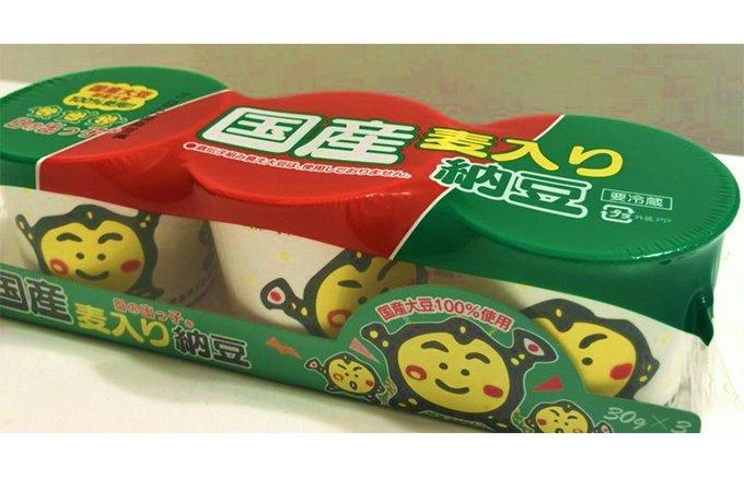 新しい納豆の楽しみ方?「おやつ」におススメ佐藤食品工業の「国産麦入りカップ納豆」