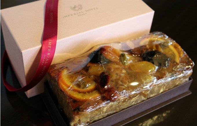 『帝国ホテル 大阪』で販売開始!フルーツがずっしり詰まったケーキ「セイボリー」
