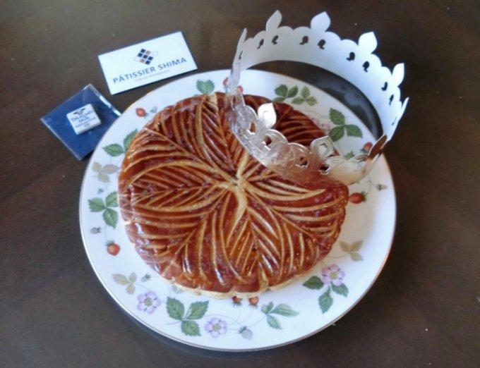 タカナシミルクと重鎮パティシエによる王のお菓子、ガレット・デ・ロワ