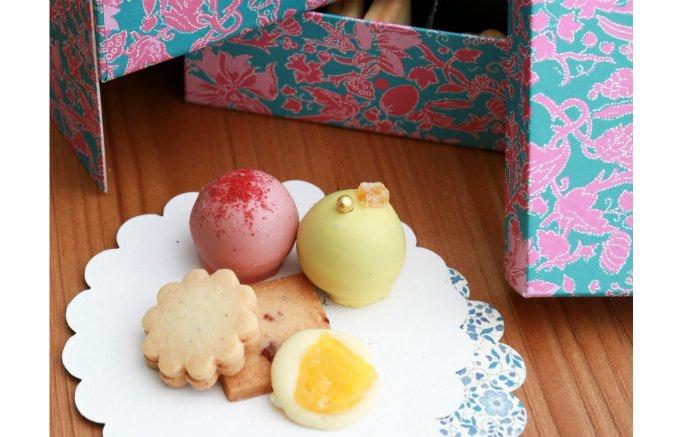 パステルカラーが可愛い!『リーポール』のアジアン・クッキーボックス