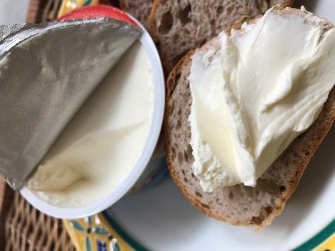 軽くてクリーミー。ドイツ産クリームチーズスプレッド