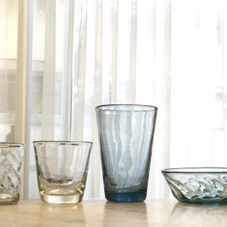 ガラス職人が命を吹き込んだグラス。きらめく透明な星が、ココロを耕す