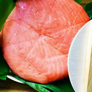 伝統の逆さ造り製法の鱒寿司!肉厚の鱒と米のハーモニーがうなる美味しさ
