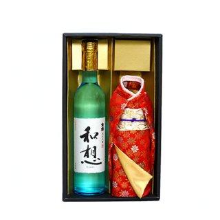 外国人へのお土産にぴったり!着物を着た東京の地酒「金婚 純米吟醸 和想」