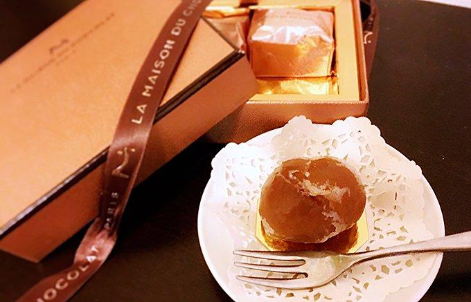 高級チョコレートブランドが贈る芳醇な香りがたまらない「マロングラッセ」