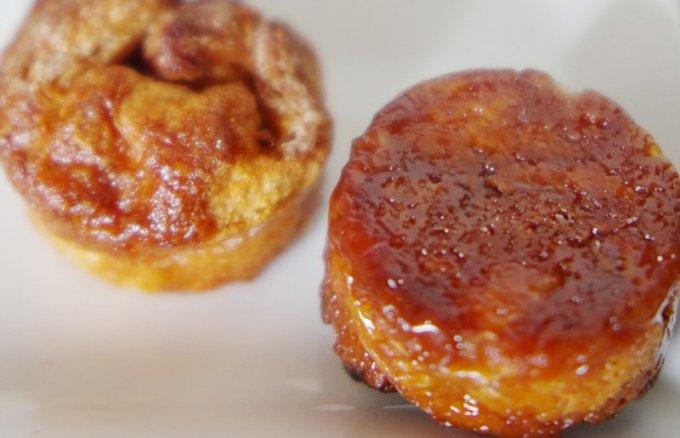 アンリ・ルルーのクイニーアマンは、塩キャラメルを1個丸ごと包み焼き