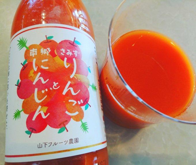長野のリンゴと青森のニンジンがコラボ!人と大地に思いを寄せた優しいジュース