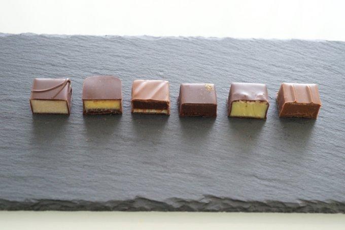 信州の四季を巡るように味わえるホテルオリジナルの「ボンボンショコラ」
