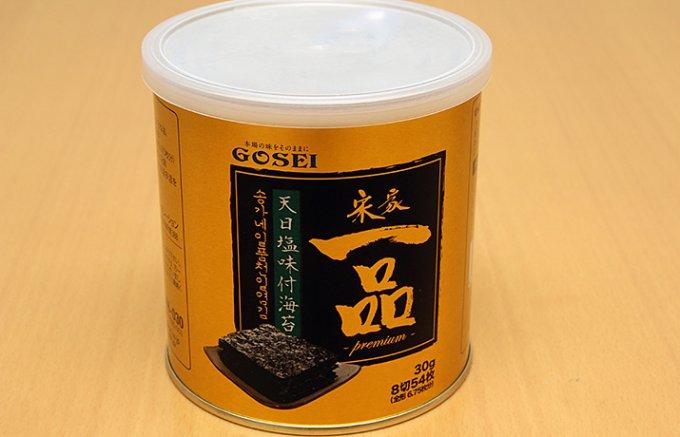 2種類の油と天日塩が味の決め手、韓国VIP御用達の海苔!