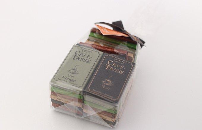 コーヒーに合うチョコレートを追求して作られた「カフェタッセ」
