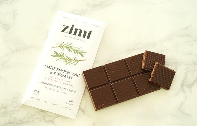 お洒落なパッケージでお土産にもぴったり!バンクーバー産のヴィーガンチョコレート!