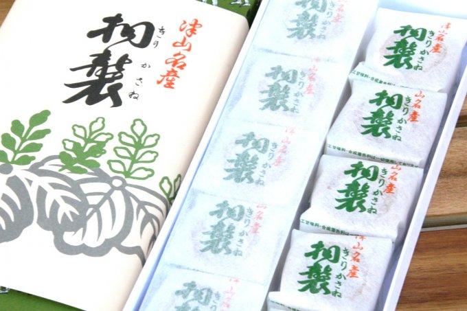 岡山・津山の超有名和菓子「桐襲」は、もっちり皮&柚子風味の白あんが秀逸