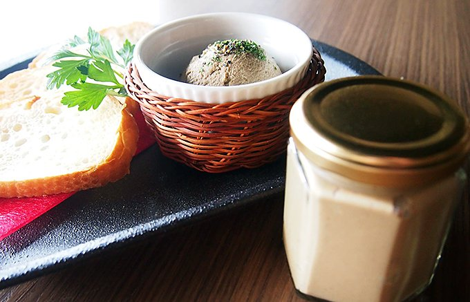 主役級の美味しさ!沼津市エンジェルガーデンのシェフが作る「レバーペースト」