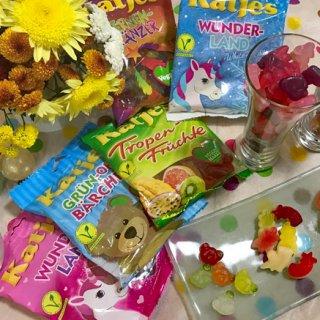 ゼラチン不使用、果物由来の香料とフレーバーの安心グミキャン