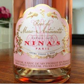 ヴェルサイユ宮殿のバラとリンゴで作ったマリー・アントワネットのスパークリング!