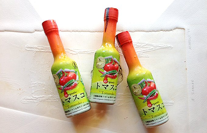 [トマト×タバスコ]酸味と辛味が何にでも合う「トマスコ」
