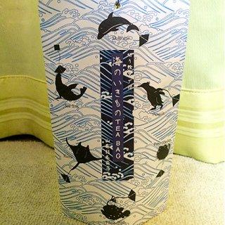 湯吞みの淵にゆらゆら海の生き物に癒される!急須で淹れたような本格派お茶バッグ