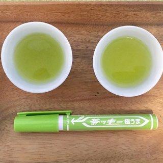 マジックペンみたいな茶ッキー!ささっとお茶がつくれる携帯に便利な粉のお茶