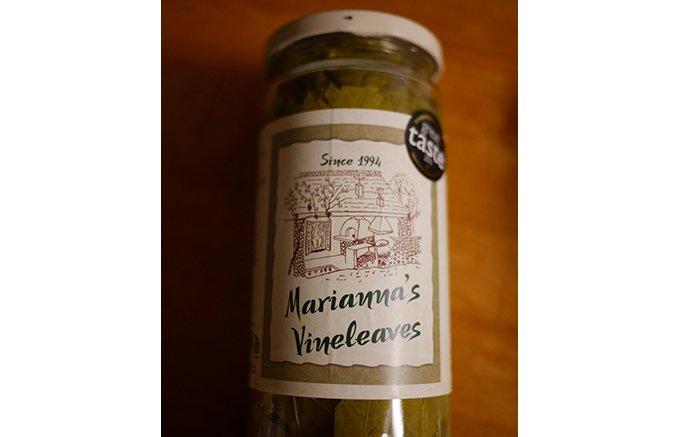 ギリシャ産「ぶどうの葉の塩漬け」で作るレモンソースがけのドルマ
