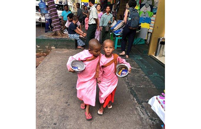 ヤンゴンは食の宝庫!フルーツを使った絶品スイーツ「マンゴーケーキ」