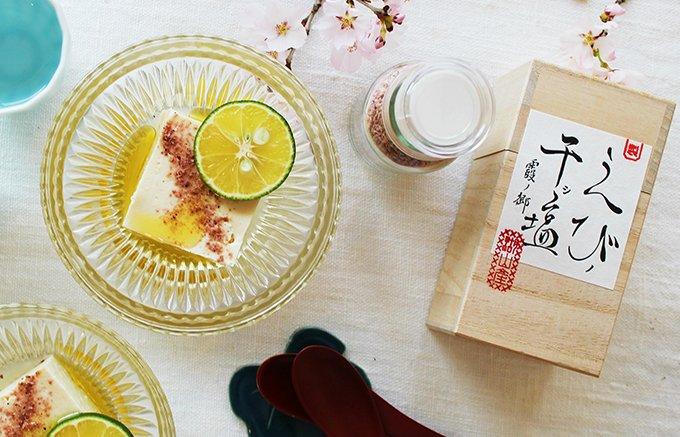 """えび魚醤の旨味と香りが凝縮!桜色の砂のように美しい""""えびノ干シ塩"""""""