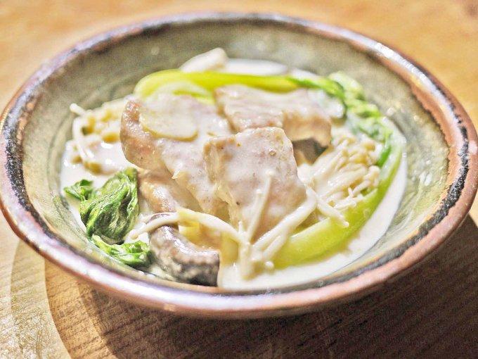 【真冬のあったかレシピ】意外な組み合わせ!クリーム煮×レモスコのレシピ