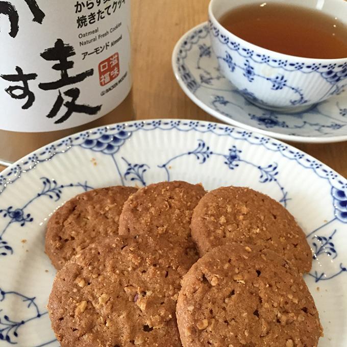 故郷広島の新銘菓?からす麦の焼きたてクッキー