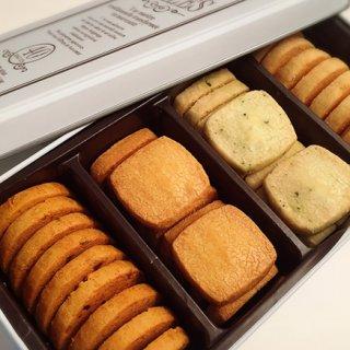 ワインに合う!湘南鎌倉の塩とフランス産ゲランド塩をブレンドした塩味クッキー