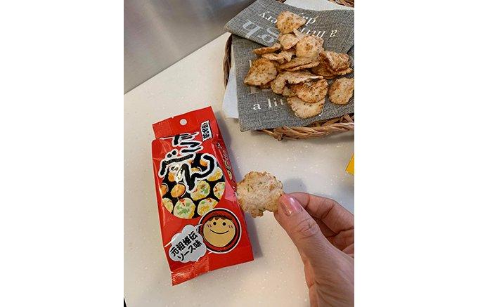 この味は本格的!本場大阪で愛されるおやつスナック「たこべえ3兄弟」