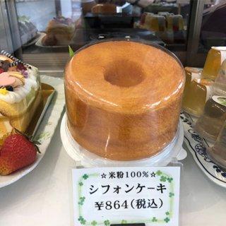 感動の味!鹿児島の米粉シフォンケーキ