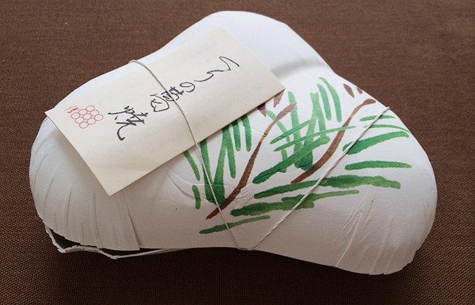 料亭菓子から発案された京都和久傳の「栗の葛焼き」