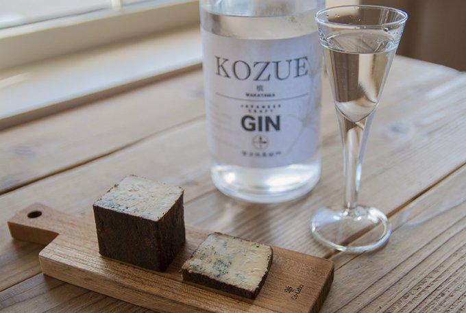 高野槙の香り高さがいきた和歌山発の和製クラフトジン「槙-KOZUE-」