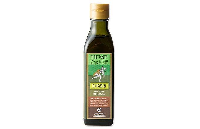 「インカインチオイル」と「ヘンプシードオイル」が融合したオイル「チャスキ」