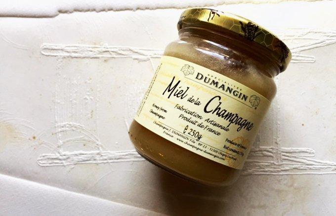 ブルーチーズがデザートに変身する瞬間が体験できる!シャンパーニュ産のはちみつ