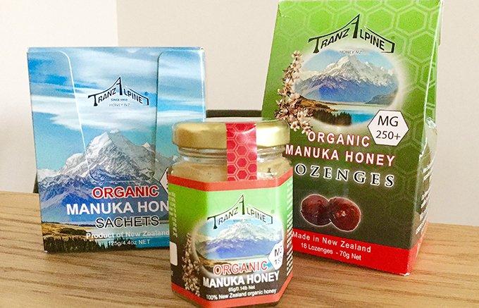 ニュージーランド原産の栄養価も高い「オーガニックマヌカハニー」
