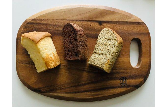 小麦のお菓子と変わらない美味しさ!100%米粉のシフォンケーキ「もふもふ」