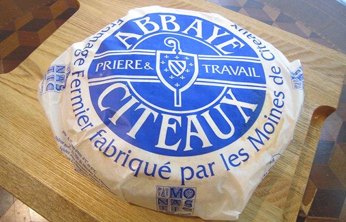 ブルゴーニュの思い出のチーズ「アベイ・ド・シトー」
