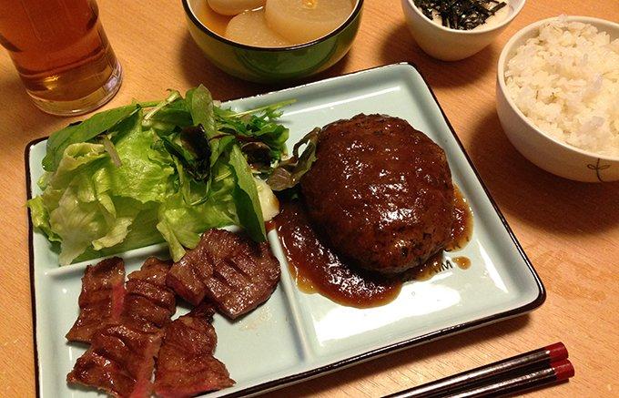 仙台発祥の「旨い」!牛たん炭焼 利久のふわふわ牛タンハンバーグ