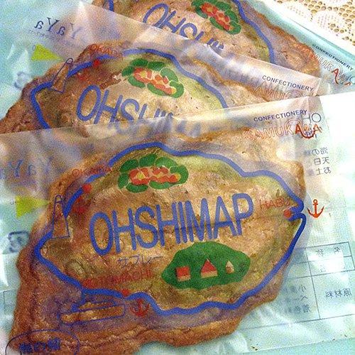 伊豆大島でしか買えない!地場の塩「海の精」の塩味が生きた寒川さんのサブレー。