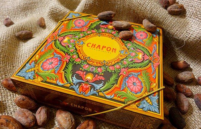 食べる芸術品!豪華模様がパリで人気のBean to BarブランドCHAPON