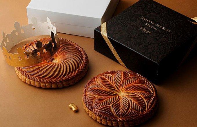 ビジュアルでトップクラスのフランスの伝統菓子ガレット・デ・ロワ