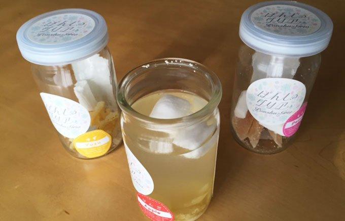 フルーツと日本酒を合わせるカクテルの素「ぽんしゅグリア」